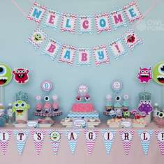 GIRL MONSTER BASH BABY SHOWER - Monster Bash!