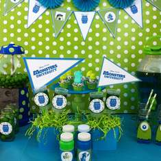 Monsters University kick-off party - Monsters Inc.