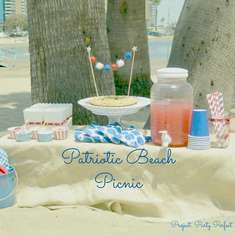 Beach Picnic - Patriotic