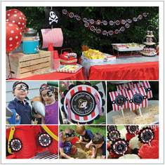 PIRATE PARTY - Pirate Birthday Boy