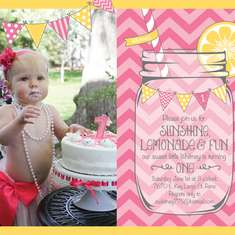 Whitney's 1st Birthday! - Pink Lemonade