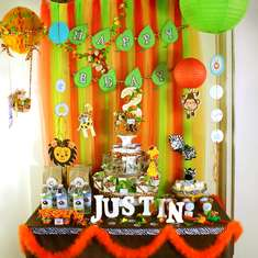SAFARI ZOO: Justin's 3rd Birthday! - Baby Safari