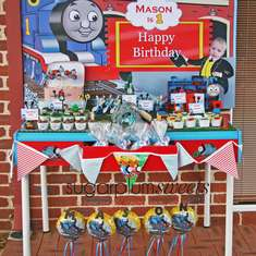 Thomas The Tank Engine 1st Birthday - Train