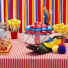 Sabrina's 8th Birthday's party - Vintage Circus