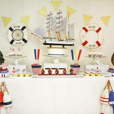 Nautical Brunch - Coastal/Nautical