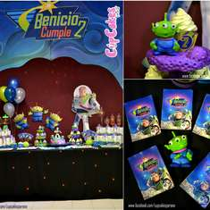 Buzz Lightyear and ALiens!! - Space/aliens