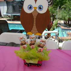 Look whoos turning one - Owl
