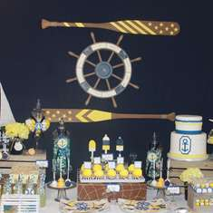 Sailor Themed Baby Shower - Sailor/nautical