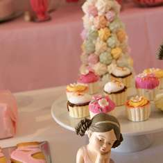 Elle's First Birthday Ballerina Party - ballerina party