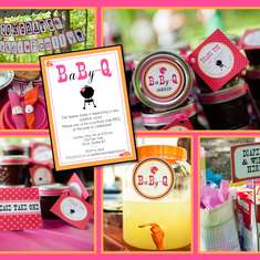 Girl Baby Q · Baby Shower