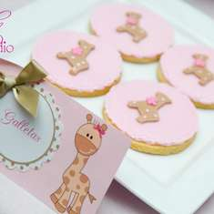 Nicky's Giraffe Baby Shower - Giraffes