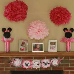Lauren's 2nd Birthday - Minnie Mouse Polka dots