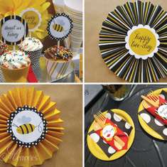 Buzz Buzz - Bumble Bee Printable Party