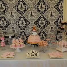 Parisian Ballerina 4th Birthday - pink/ballet theme