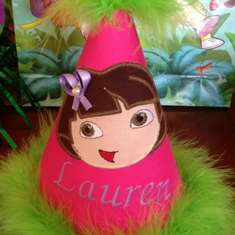 Lauren's 4th Birthday - Dora the Explorer