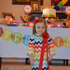 Ava's 2nd Birthday - Rainbow Party