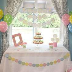 Cute as a Button Baby Shower - None