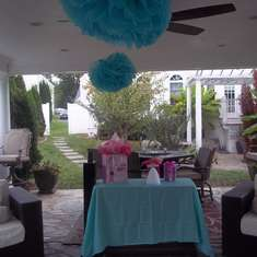 Marta's Bridal Shower Brunch - Tiffany Blue