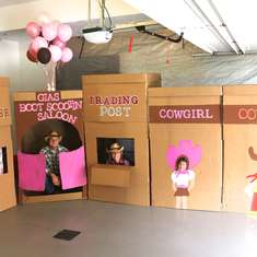 Gia's Cowgirl Party - Cowboy and Cowgirl