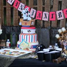 Captain Jax's 1st Birthday - Pirate Birthday Boy