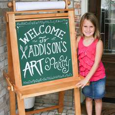 Addison's Art Party - Art Party