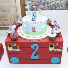 Choo Choo, Cameron is 2! - Thomas the Train party