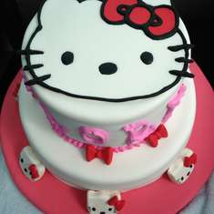 Hello Kitty party - Hello Kitty, pink