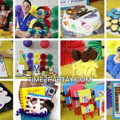 Art Themed Birthday Party - Art Party