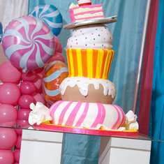 Taylor's Super Sweet Candy land 1st Birthday Party  - Candyland