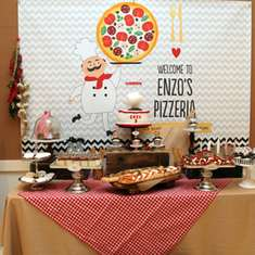 enzo's 5th birthday party - Pizza Party