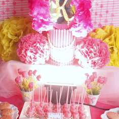 Kendra's Princess Party - Disney Princess Party