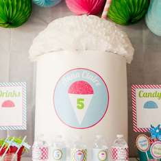 Anna Claire's Snow Cone Party - Summer Snow Cones