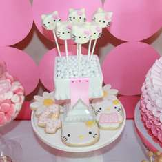 Hello Kitty Inspired 4th Birthday  - Hello Kitty!