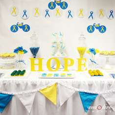 Ride to Conquer Cancer Fundraiser Table - None