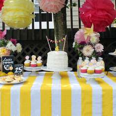 Lemonade Birthday Party - Lemonade