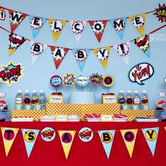 Super Hero Baby Shower - Superheros