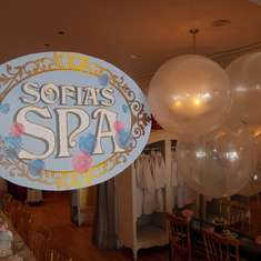 Spa Tea Party - Spa Party