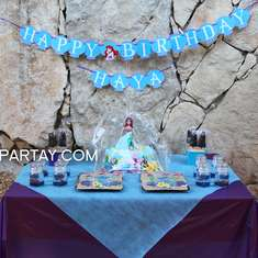 Little Mermaid Inspired Birthday Party - The Little Mermaid