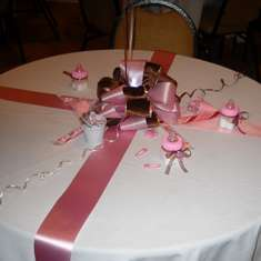 Michelle's Baby Shower - Pink & Brown