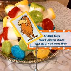 Angie's Seussical Baby Shower - Dr. Seuss