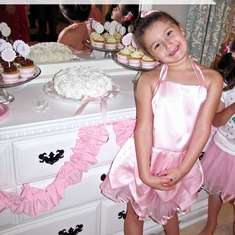 Ballerina Birthday Party  - pink/ballet theme