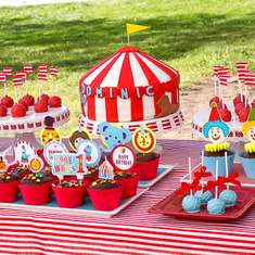 Circus Themed 1st Birthday - Carnival/Circus