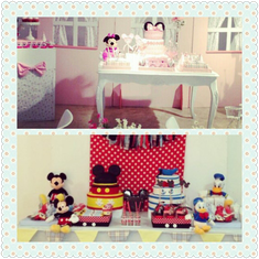 Cumple de Minnie Mickey y Donald, de Belu Tomas y Thiago - Minnie Mickey y Donald
