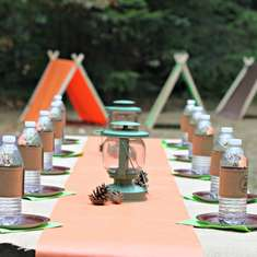 Camp Miles - First Birthday - Camping