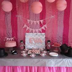 Eva's 2nd Birthday - Two-Twos and Top Hats - Tutus & Top Hats