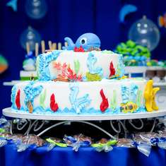Arthur's 2nd birthday! - Under the Sea