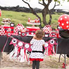 Red Polka Dot Minnie Mouse Party - Minnie Mouse Polka dots