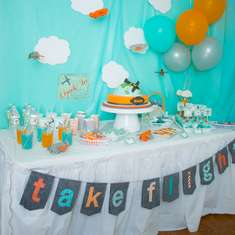 Airplane Birthday Party - Airplanes & Clouds