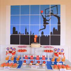 """Rookie of the Year"" 1st Birthday Party - Basketball"