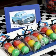 Cars 2 Ice cream Party - Disney Cars 2
